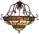 Stained Glass Hanging Lamps & pendants