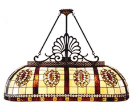 Stained Glass Billiards Lamps