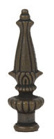 89mm  Large Classic Antique Brass