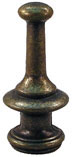 58mm  Large Pagoda Antique Brass